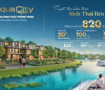 Aqua City có giá bán và chính sách tốt