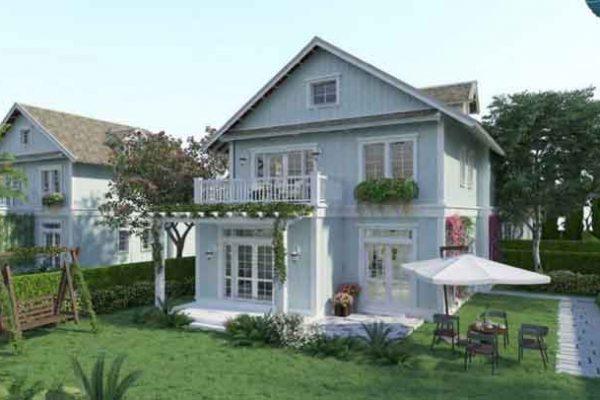 Single villa 10 x 20