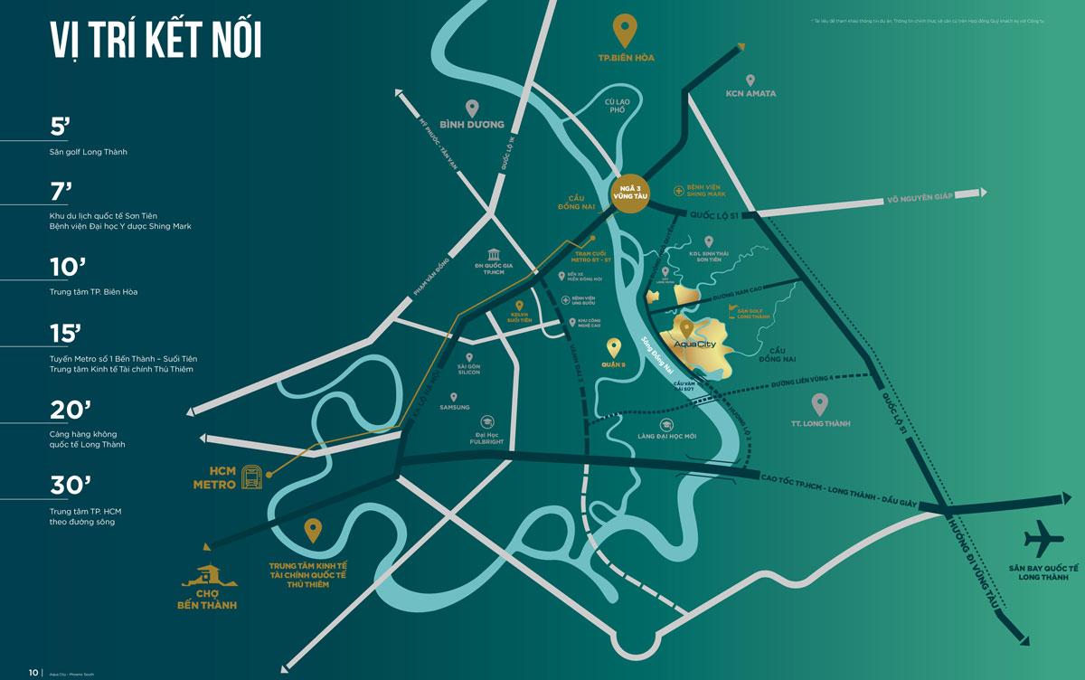 Vị trí tọa lạc đắc đại Tại tâm điểm tam giác vàng khu đô thị Đông Sài Gòn