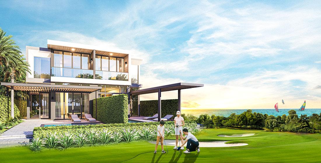 biệt thự golf villa nova phan thiết