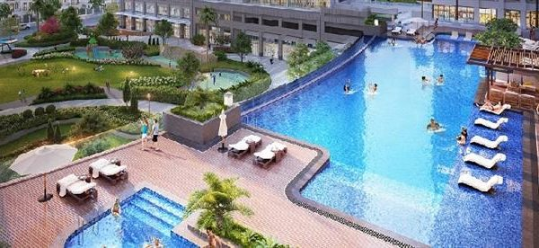 Bể bơi nội khu