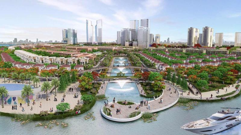 Cuộc sống gần gũi với thiên nhiên sống xanh trong lành của Aqua City