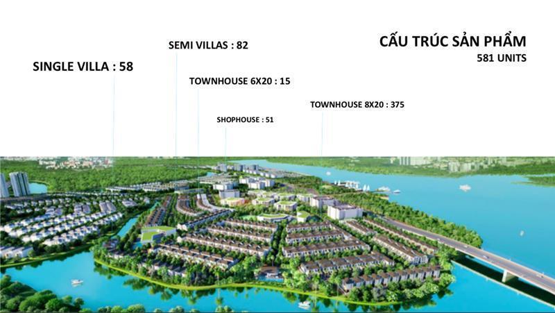 Aqua City - dự án có quy mô tới hơn 100 ha của Novaland tại Đồng Nai cung cấp đa dạng loại hình sản phẩm cho khách hàng