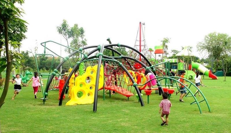 Các khu vui chơi, công viên giải trí dành cho trẻ em ngay tại nội khu của dự án