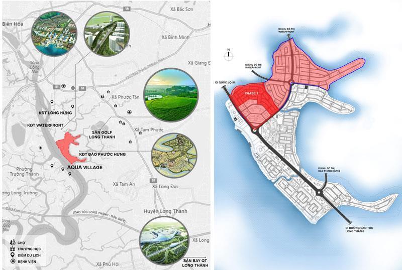Nova Aqua City Đồng Nai, vị trí tọa lạc đã được các nhà đầu tư đánh giá cao