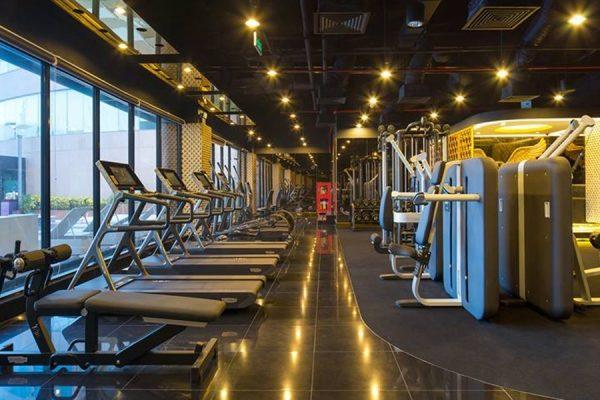 Khu tập gym cao cấp