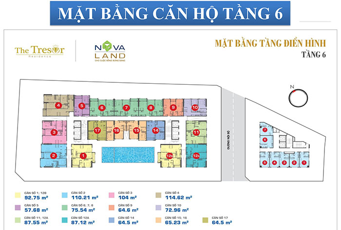 MB OFFICETEL TẦNG 6