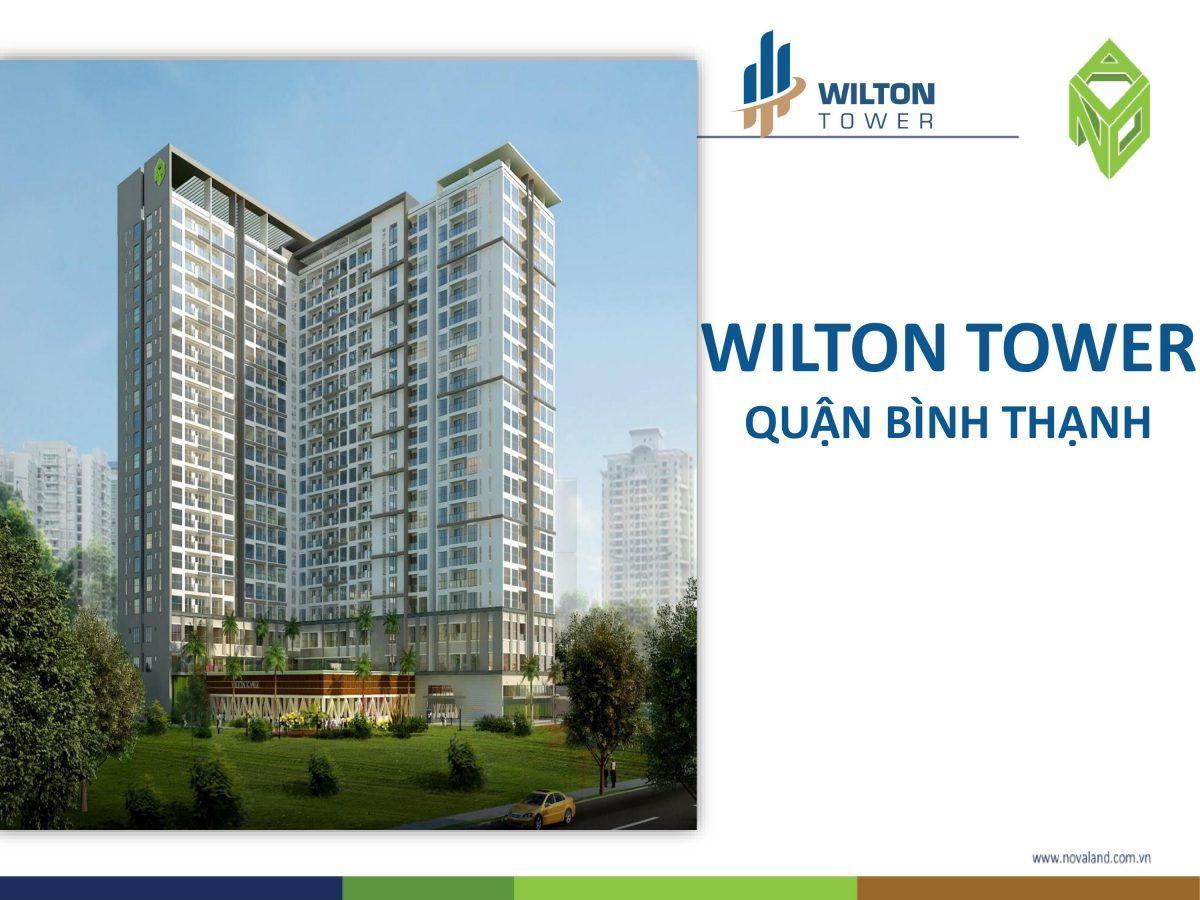 TỔNG QUAN CĂN HỘ WILTON TOWER BÌNH THẠNH