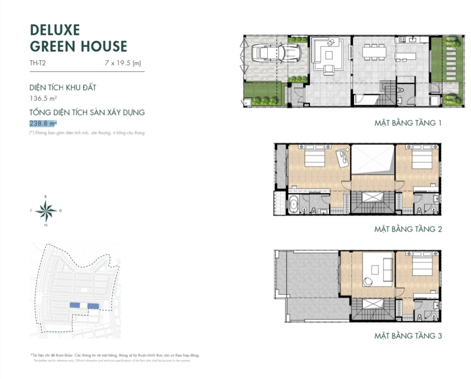 DELUXE GREEN HOUSE 136M2