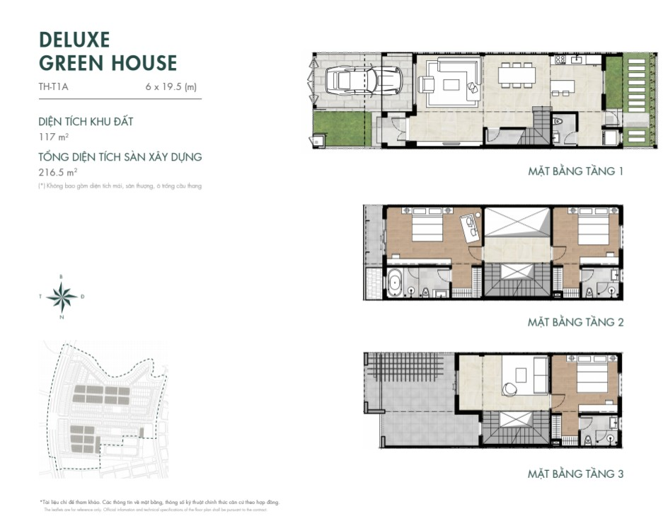 DELUXE GREEN HOUSE 117M2