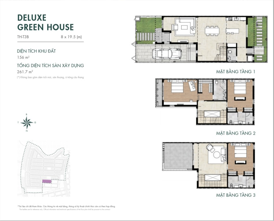 DELUXE GREEN HOUSE 156M2