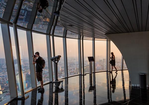 Đài Quan Sát Saigon Skydeck được đặt tại tầng 49