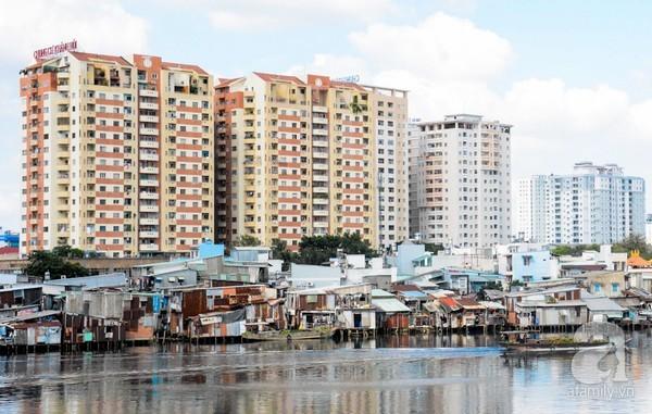 Sự hình thành của Đại lộ Đông Tây - Xóa bỏ khu ổ chuột xung quanh