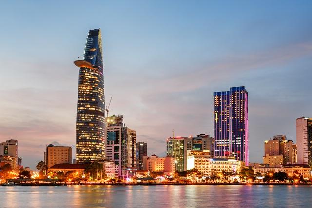 Thiết kết độc đáo của tòa nhà Bitexco trở thành địa điểm du lịch Sài Gòn đẹp
