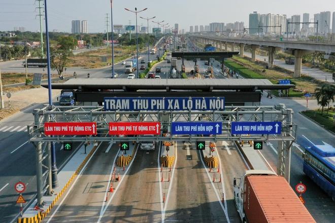 Trạm thu phí xa lộ Hà Nội