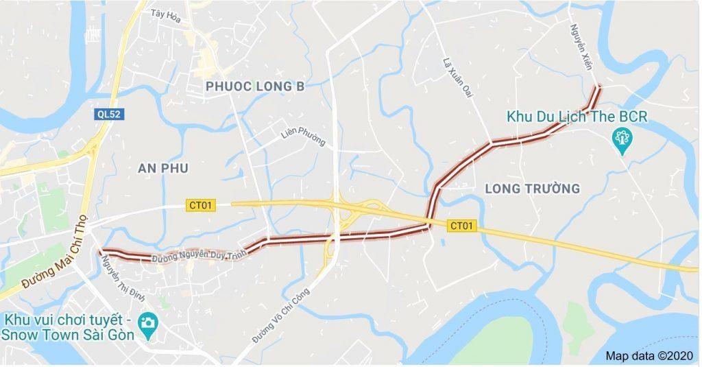 Dự án đường Nguyễn Duy Trinh