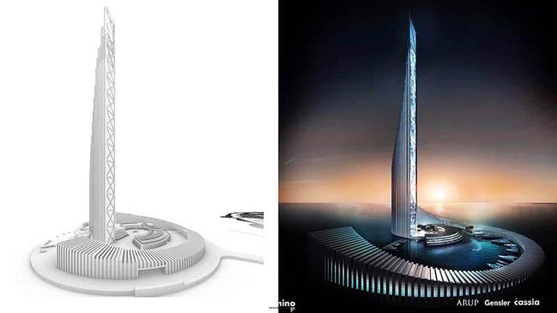 Thiết kế tòa tháp Domino Quảng Ninh