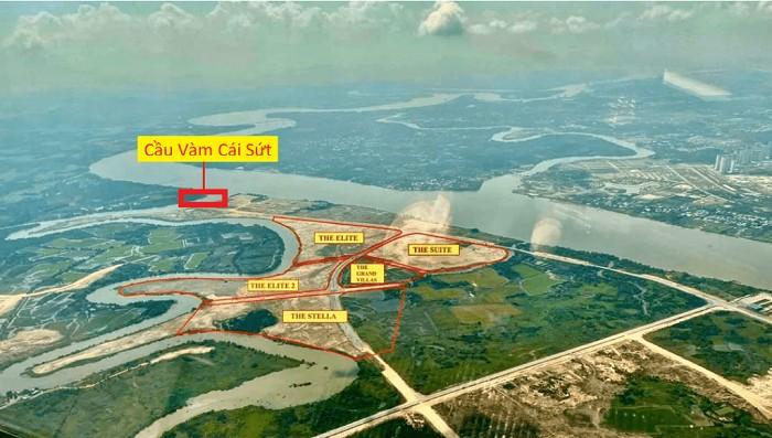 Tiềm năng thúc đẩy các dự án BĐS xung quanh cầu Vàm Cái Sứt