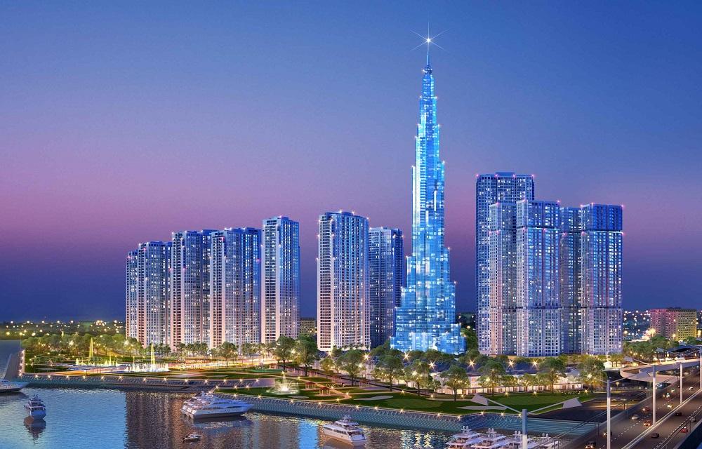 Toà Landmark 81 Tầng - Tòa nhà cao nhất Việt Nam