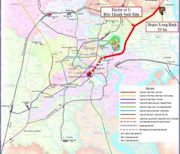 Tuyến Metro số 1 và dự án Suối Tiên Bến Thành mang lại tiềm năng to lớn cho giới bất động sản.